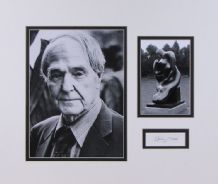 Henry Moore Autograph Signed Display